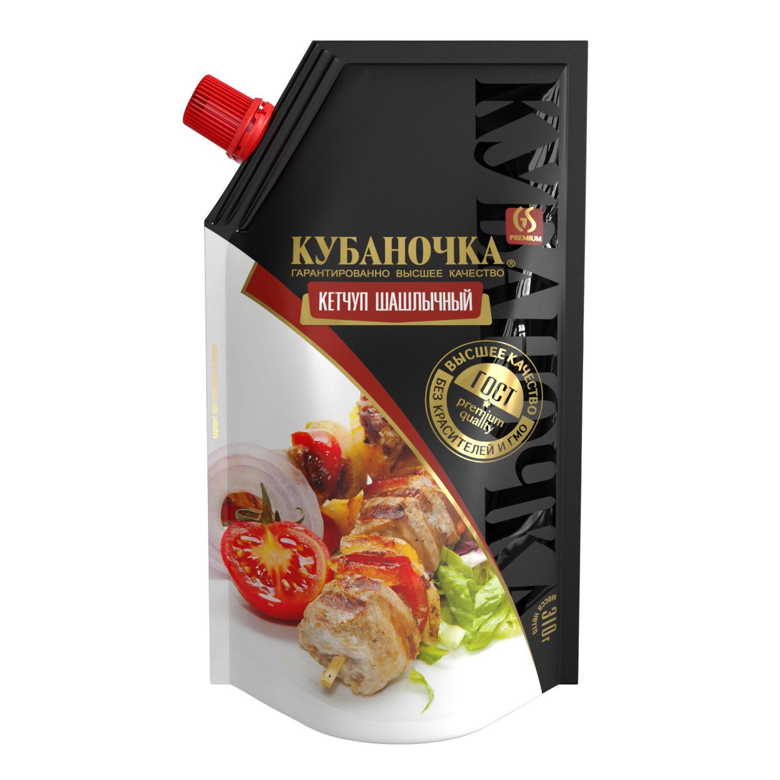 Кетчуп шашлычный, Масса: 310 г