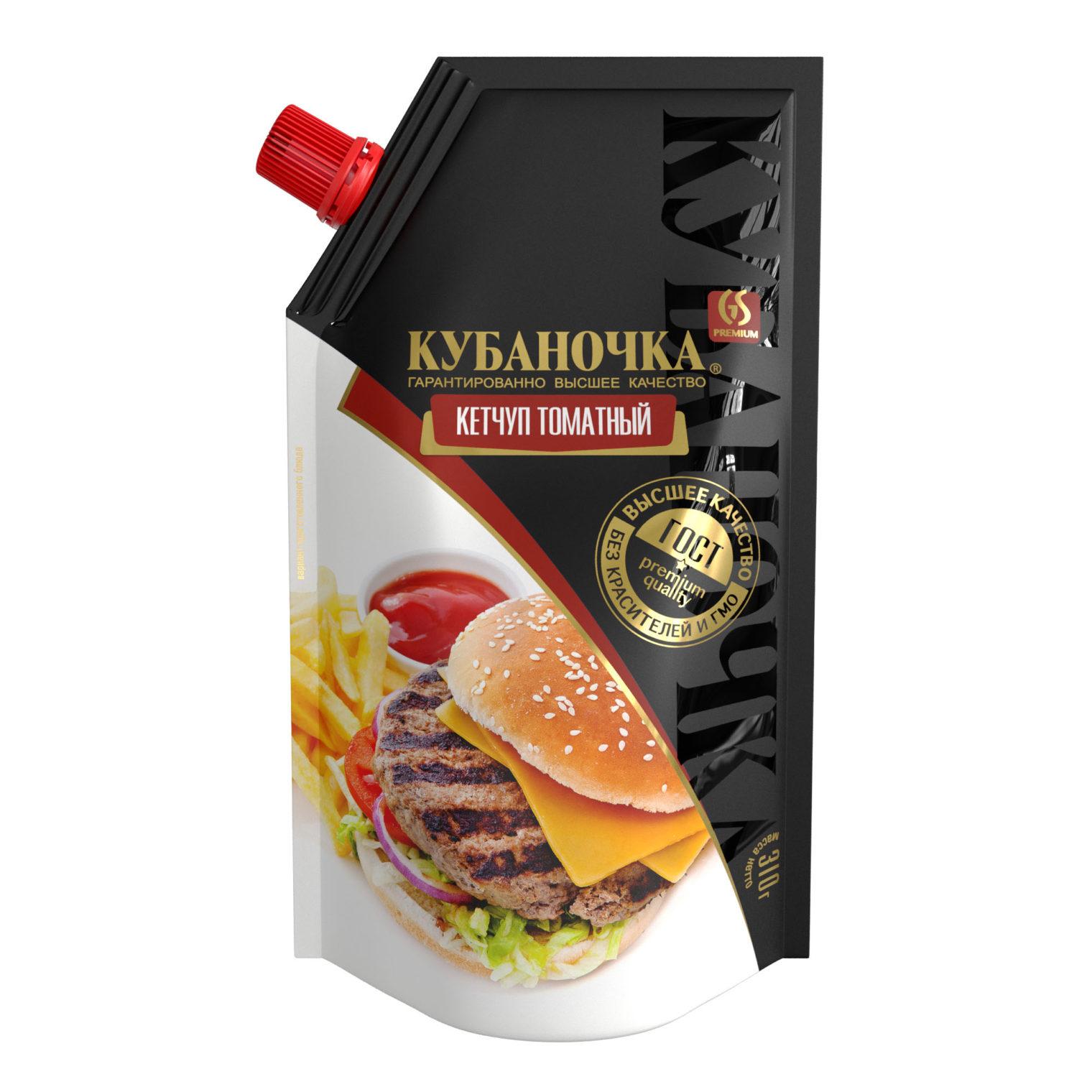 Кетчуп томатный, Масса: 310 г